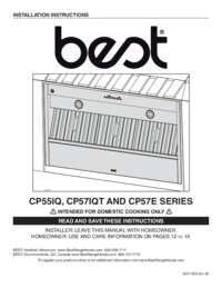 CP55IQ CP57IQT CP57E Series Installation Manual SV
