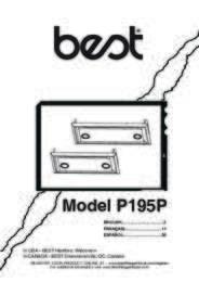 P195P Installation Guide 99045018B