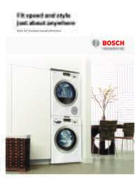 Compact Washer & Dryer Brochure