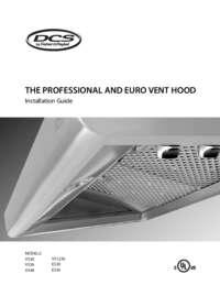 Prof Ventilation Hoods Install