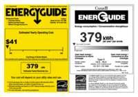 Energy Label CS 1611 + CS 1660