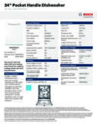bosch dishwasher installation instructions problem