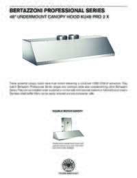 KU48 PRO 2 X Specification Sheet