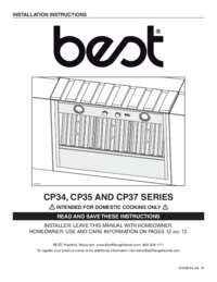 CP34 CP35 CP37 Installation Manual SV08544 rev 10