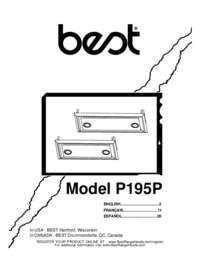 P195P Installation Guide 99045018C