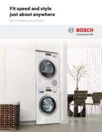 Compact Washer & Dryer Brochure