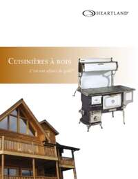 Heartland Woodburning Product Brochure (French)