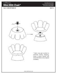 Mitt Chair Assembly Instructions