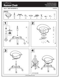 Rumor Chair Assembly Instructions