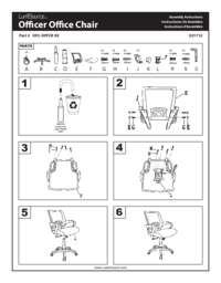 Officer Chair Assembly Instructions