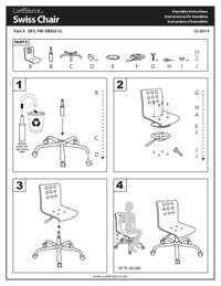 Swiss Office Chair Assembly Instructions