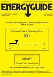 CP35LLF2ADA Energy Guide