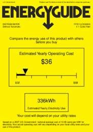 FF511LCSSADA Energy Guide