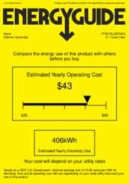 FF521BLBIIFADA Energy Guide