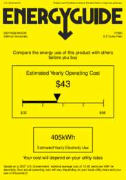 FF6BI Energy Guide