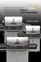 Vermont Castings Vcs325ssp Freestanding Grill In