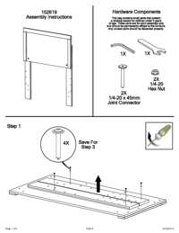Headboard Assembly Instructions
