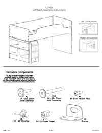 Loft Bed Assembly Instructions