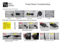 POWER MOTION TROUBLE SHOOTING