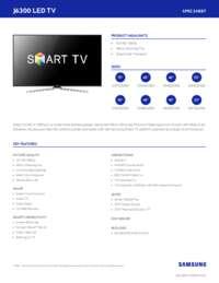 TV J6300 SpecSheet 3 17 15