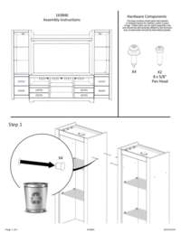 Entertainment Center Assembly Guide