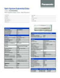 Specs Sheet