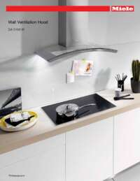 miele range hood installation instructions