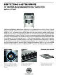 MAS30 4 DFS XT Specification Sheet