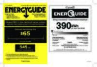 USA_CA_RF135B IW EnergyGuide 841161A_LAB