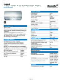Download Product Specs