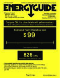 EnergyGuide - T42BD820NS