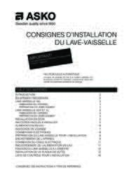 Installation instructions (FR)