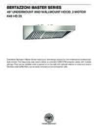K48 HD 2X Specification Sheet