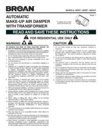 MD6T MD8T MD10T Installation Guide 99044539H