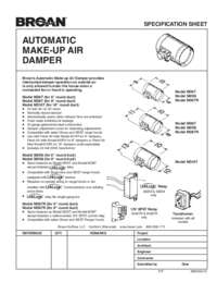 MD6T MD8T MD10T Specification Sheet 99044541C