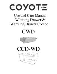 CWD & CCD-WD Manual
