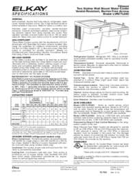 Specification Sheets