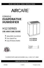 H12 Owner Manual