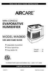 MA0800 Owners Manual