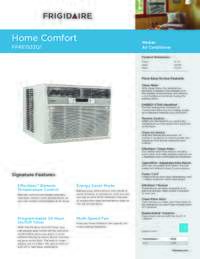 Frigidaire Ffre1533q1 Air Conditioner Cooling Area