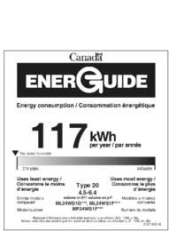 Energy Guide - Full Glass Door (Canada)