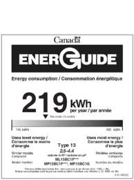 Energy Guide - Glass (Canada)