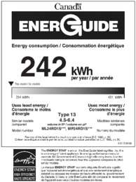 Energy Guide - Stainless (Canada)