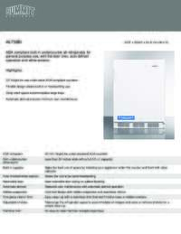 Brochure AL750BI