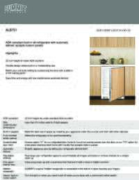Brochure ALB751