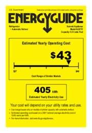 ALB751 Energy Guide