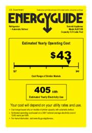 ALB753B Energy Guide