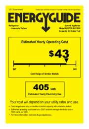 ALB753LBLSSHH Energy Guide
