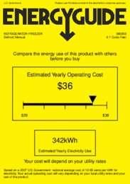 BI605B Energy Guide