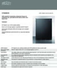 Brochure CT663BADA